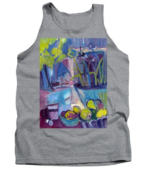 Inside And Outside Abstract Expressionism Tank Top