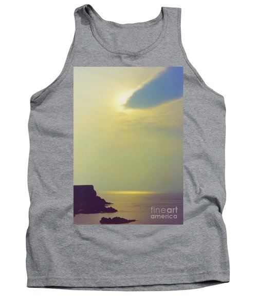 Ireland Giant's Causeway Ethereal Light Tank Top by First Star Art