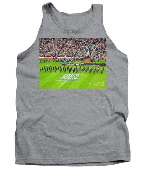 Tank Top featuring the photograph Ireland Vs France by Suzanne Oesterling