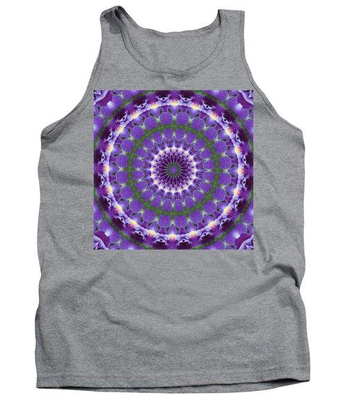 Iris Kaleidoscope  Tank Top