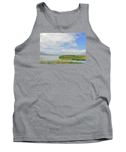 Tank Top featuring the photograph Island Peace by Marilyn Diaz