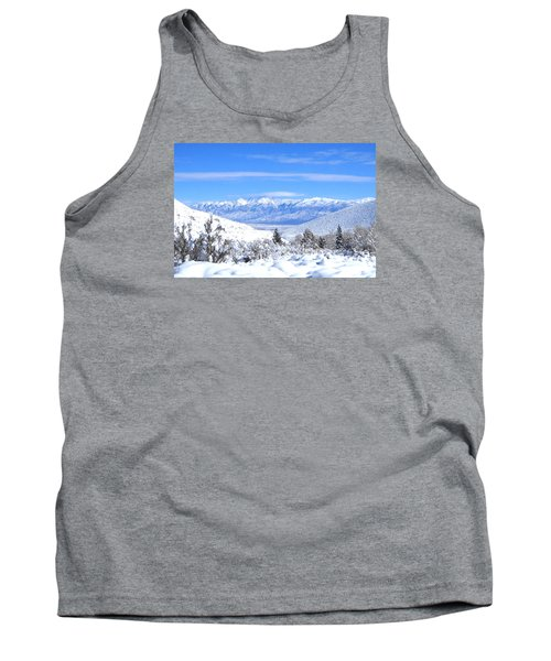 Tank Top featuring the photograph It Snowed by Marilyn Diaz