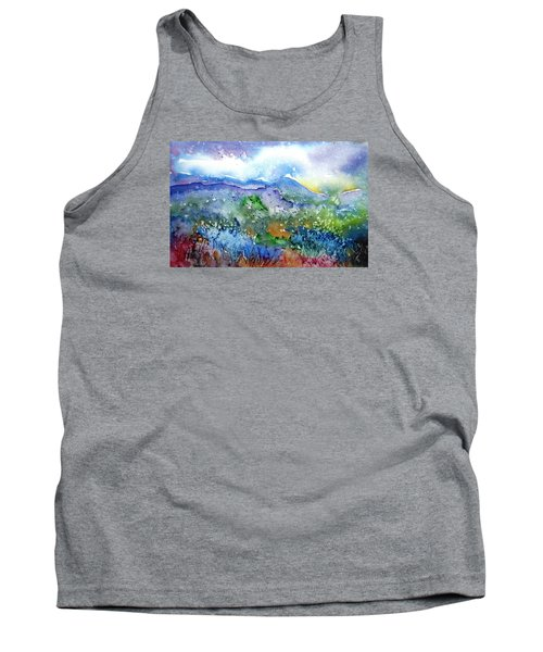 It Sometimes Rains In Tuscany Too  Tank Top by Trudi Doyle
