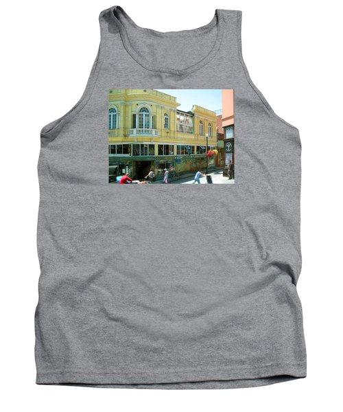 Italian Town In San Francisco Tank Top by Connie Fox