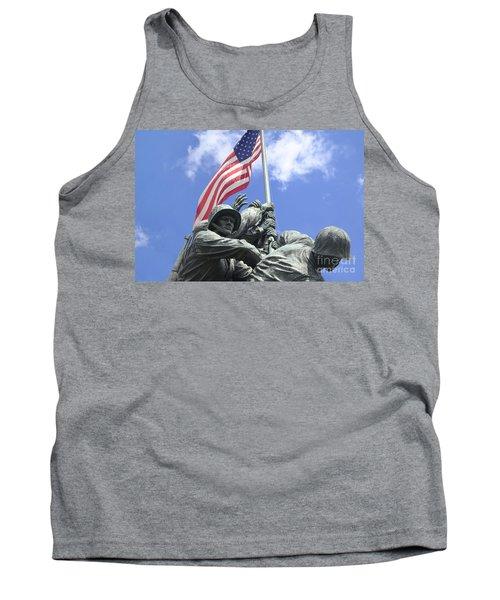 Iwo Jima Memorial Tank Top