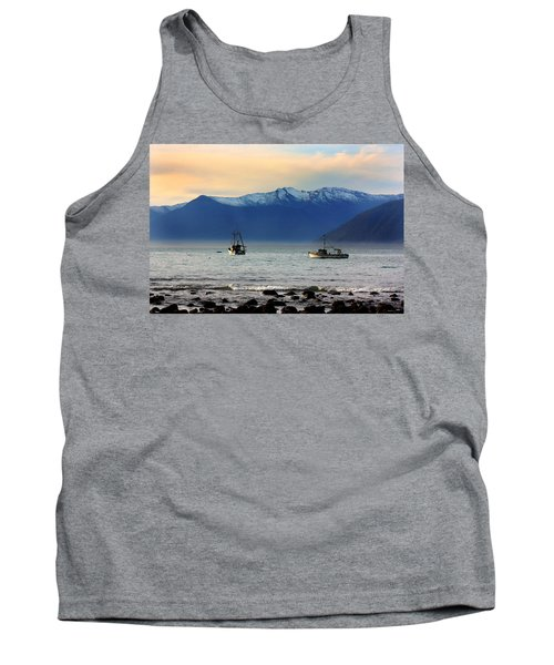 Tank Top featuring the photograph Jackson Bay South Westland New Zealand by Amanda Stadther