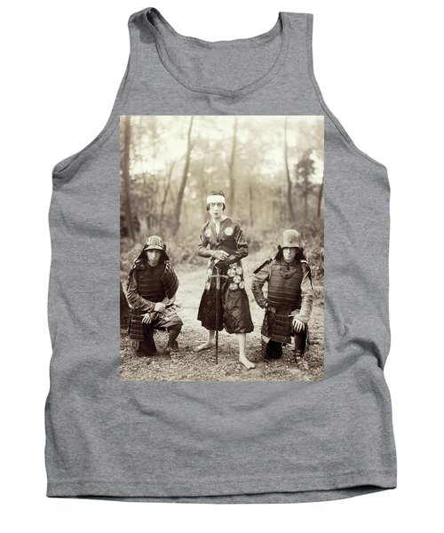 Tank Top featuring the photograph Japan Dancer, 1920s by Granger