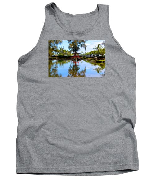 Japanese Gardens Tank Top by Venetia Featherstone-Witty