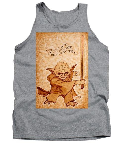 Jedi Yoda Wisdom Tank Top