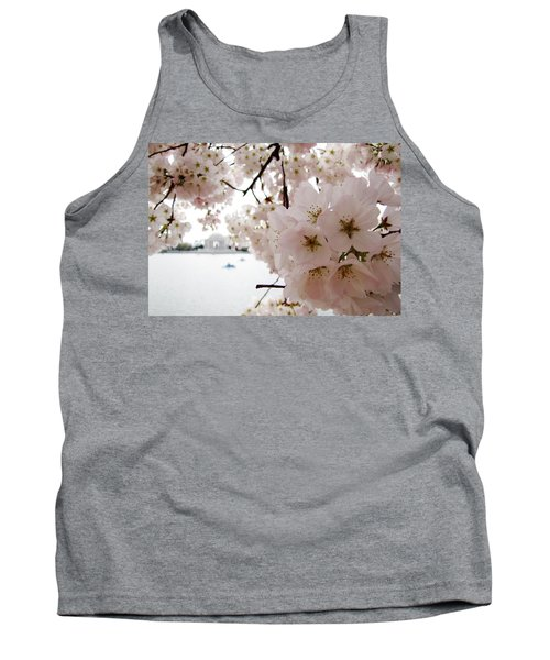 Tank Top featuring the photograph Jefferson Memorial by Jennifer Wheatley Wolf