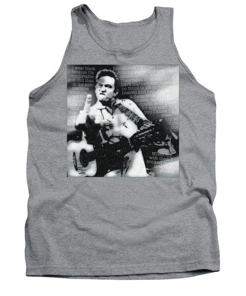 Johnny Cash Rebel Tank Top
