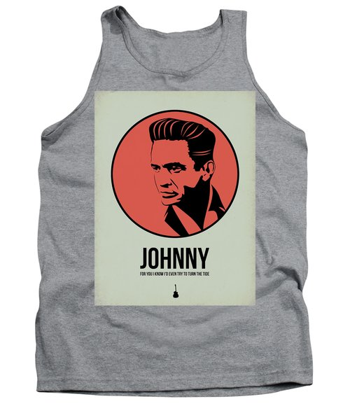 Johnny Poster 2 Tank Top by Naxart Studio