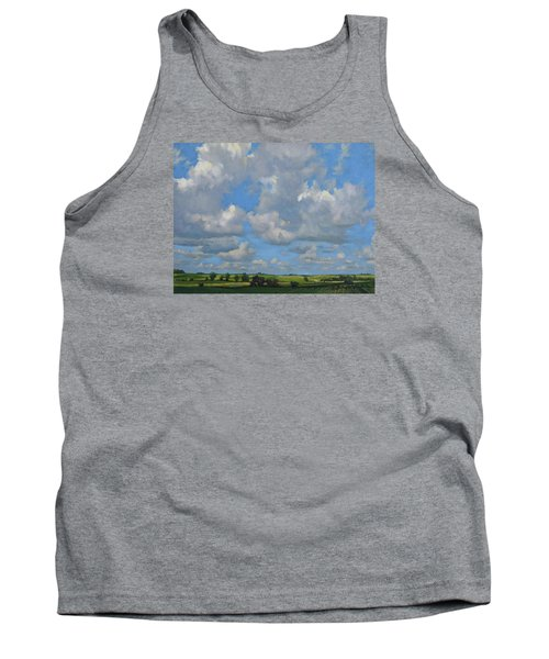 July In The Valley Tank Top by Bruce Morrison