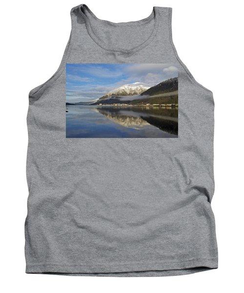 Juneau In Winter Tank Top by Cathy Mahnke