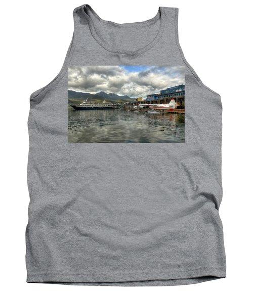 Juneau's Hangar On The Wharf Tank Top