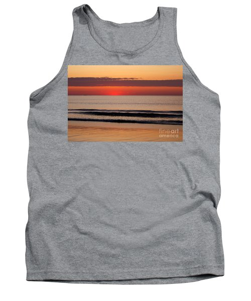 Tank Top featuring the photograph Just Showing Up Along Hampton Beach by Eunice Miller