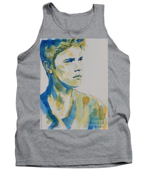 Justin Bieber Tank Top by Chrisann Ellis