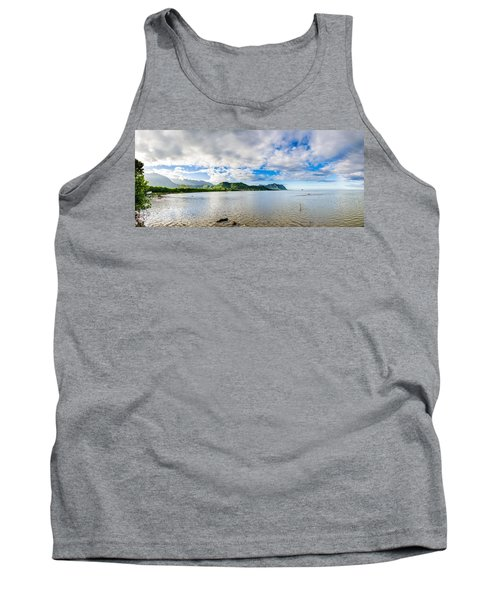 Kahaluu Fish Pond Panorama Tank Top