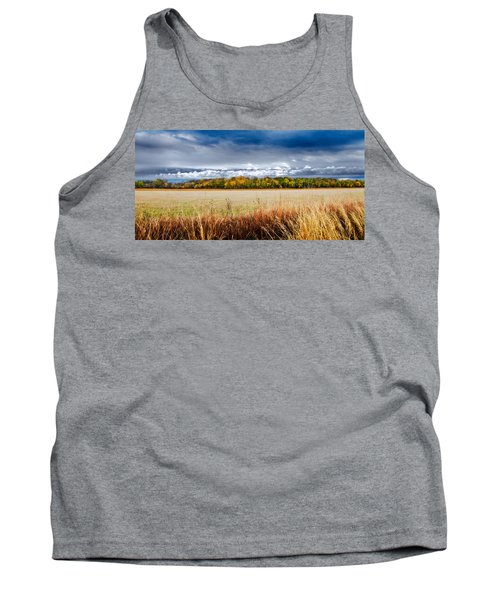Kansas Fall Landscape Tank Top