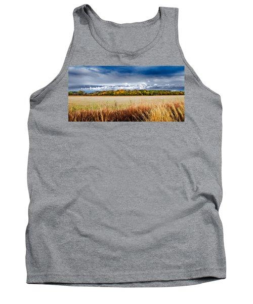 Kansas Fall Landscape Tank Top