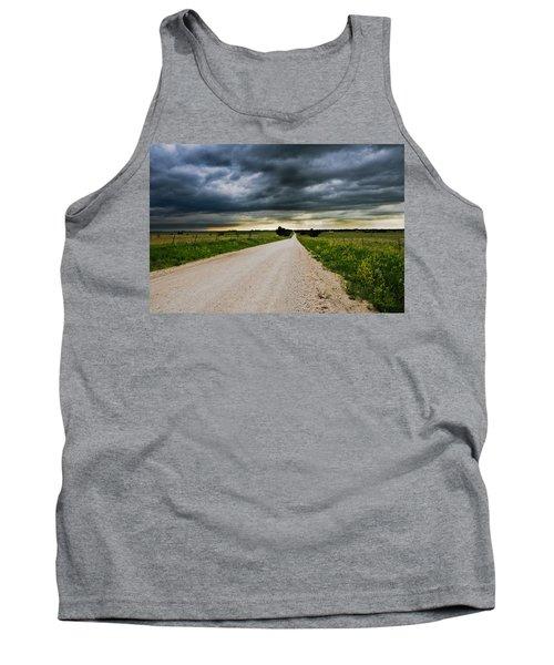 Kansas Storm In June Tank Top