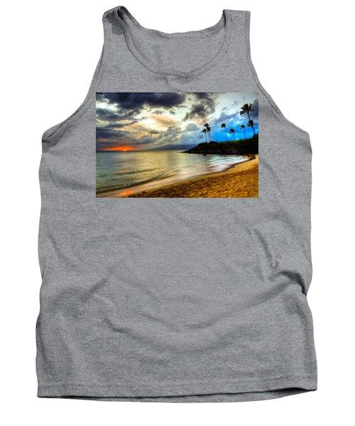 Kapalua Bay Sunset Tank Top by Kelly Wade