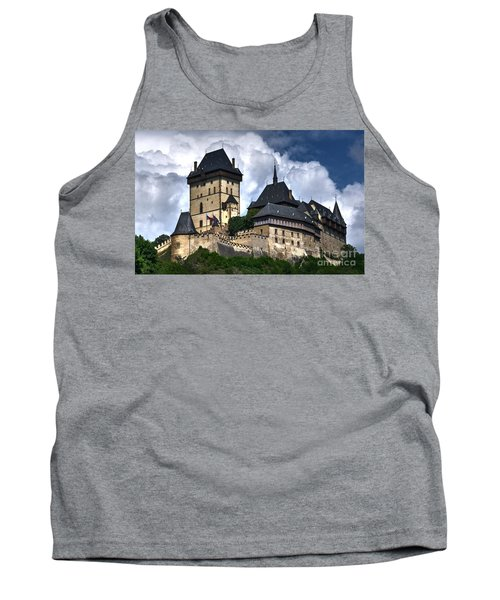 Tank Top featuring the photograph Karlstejn Castle In Prague 2 by Joe  Ng