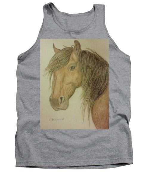 Kathy's Horse Tank Top by Christy Saunders Church