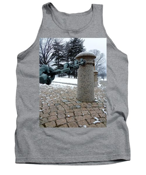 Tank Top featuring the photograph Keep Out by Michael Porchik