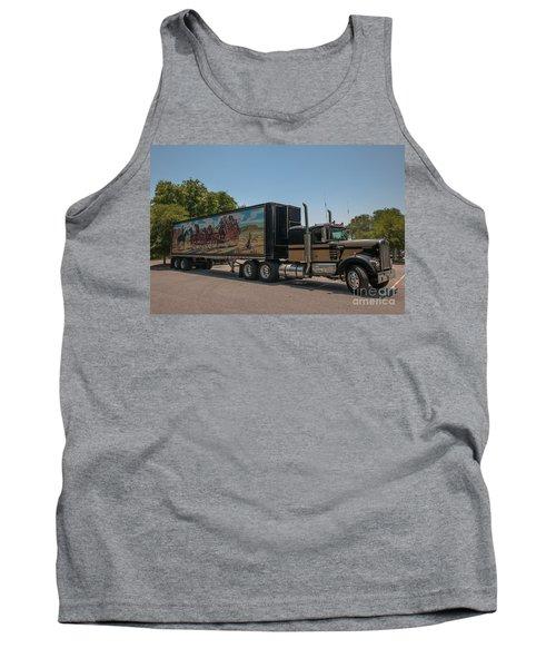 Keep Those Wheels A Truckin Tank Top