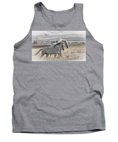 Tank Top featuring the photograph Knee Deep D3505 by Wes and Dotty Weber