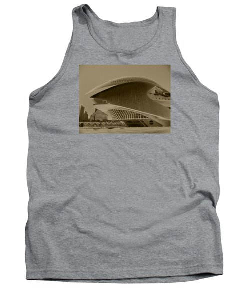 Tank Top featuring the photograph L' Hemisferic - Valencia by Juergen Weiss