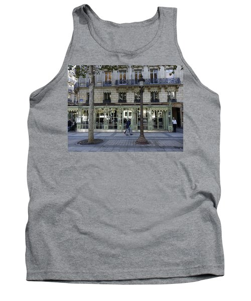 Laderee On The Champs De Elysees In Paris France  Tank Top