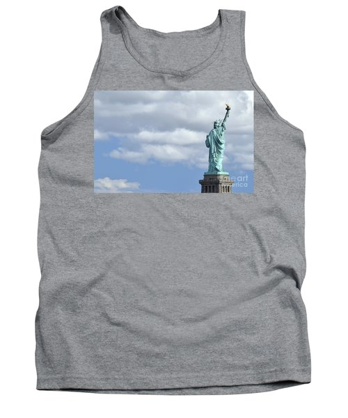 Lady Liberty   1 Tank Top by Allen Beatty