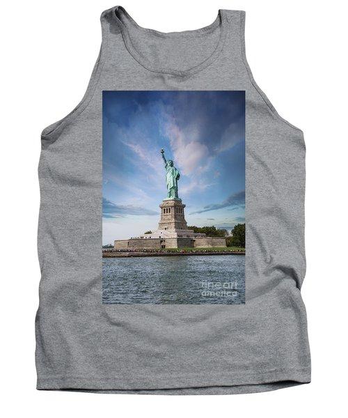 Lady Liberty Tank Top by Juli Scalzi