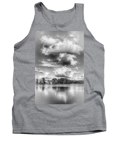 Tank Top featuring the photograph Lake De Soto by Howard Salmon