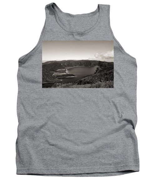 Lake In A Crater Tank Top