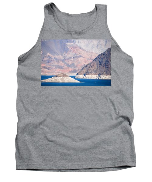 Tank Top featuring the photograph Lake Mead National Recreation Area by John Schneider