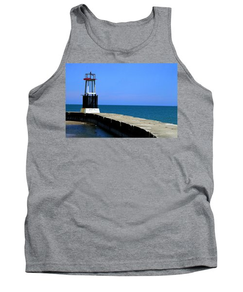 Lakefront Pier Tower Tank Top