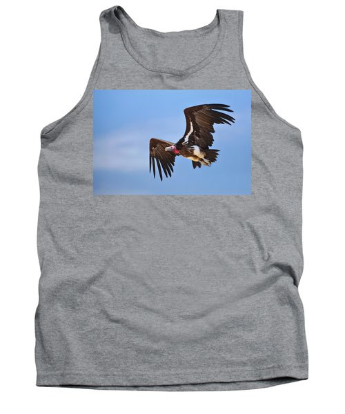 Lappetfaced Vulture Tank Top by Johan Swanepoel