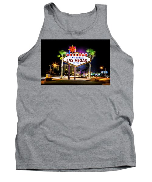 Las Vegas Sign Tank Top