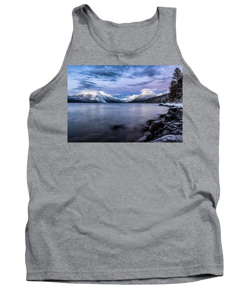Tank Top featuring the photograph Last Light by Aaron Aldrich