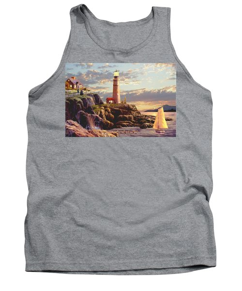 Last Light  Tank Top by Ron Chambers