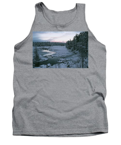 Tank Top featuring the photograph Late Afternoon In Winter by David Porteus