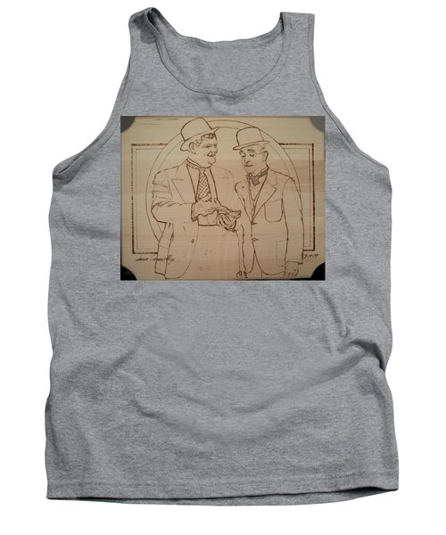 Laurel And Hardy - Thicker Than Water Tank Top