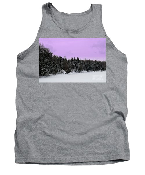 Tank Top featuring the photograph Lavender Skies by Bianca Nadeau