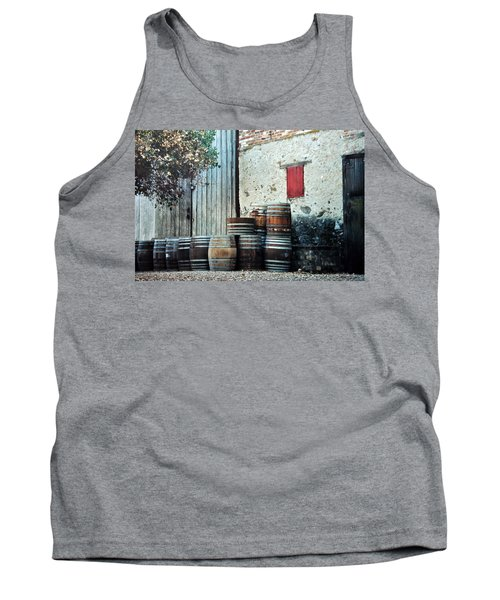 Tank Top featuring the photograph Lazy Afternoon At The Winery by Diane Alexander