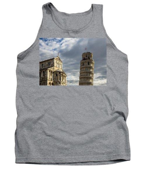 Leaning Tower And Duomo Di Pisa Tank Top