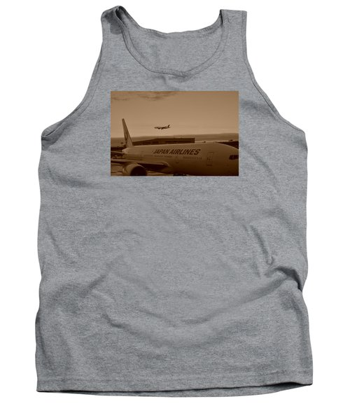 Leaving Japan Tank Top by Miguel Winterpacht