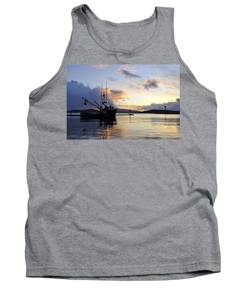 Tank Top featuring the photograph Leaving Safe Harbor by Cathy Mahnke